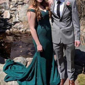 Jovani mermaid style prom dress